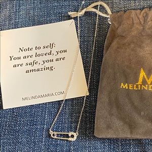 Melinda Maria Safety Pin Necklace